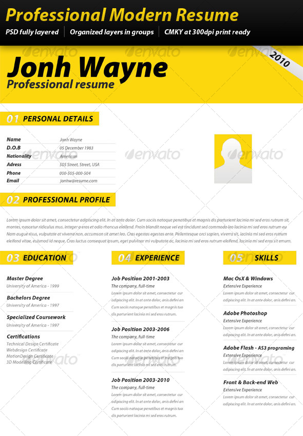 how to make a professional resume