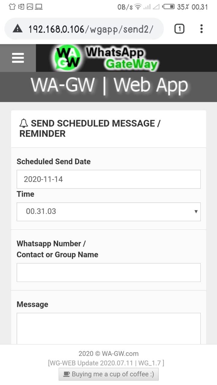 Source Code Sms Gateway Vb6 : source, gateway, WA-GW, WhatsApp, GateWay, Source, Code), Wawn1782, CodeCanyon
