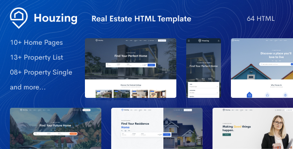Houzez is a wordpress theme designed specifically for real estate agents and companies. Real Estate Agent Bootstrap4