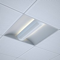office recessed ceiling light by lftspc | 3DOcean
