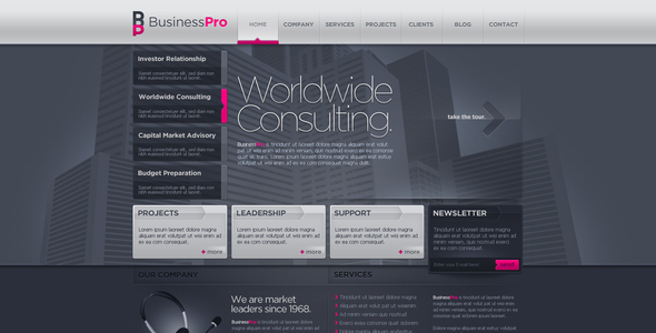 Every business needs a website, but how do you go about? Business Template 10 By Kaisersosa Themeforest