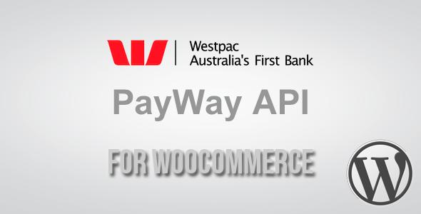 PayWay API (Westpac) Gateway for WooCommerce