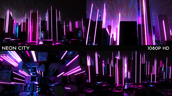 1920x1080 Hd Wallpaper Car Hud Neon City By Ghosteam Videohive