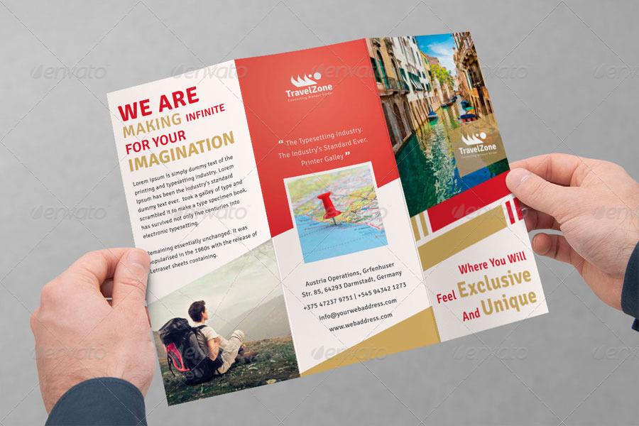 Tourism Tri Fold Brochure Volume 2 By Femo GraphicRiver
