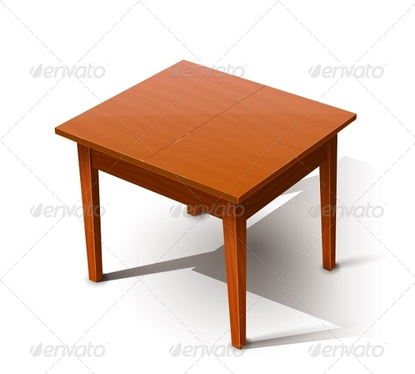 Wooden Table by Aleksangel  GraphicRiver
