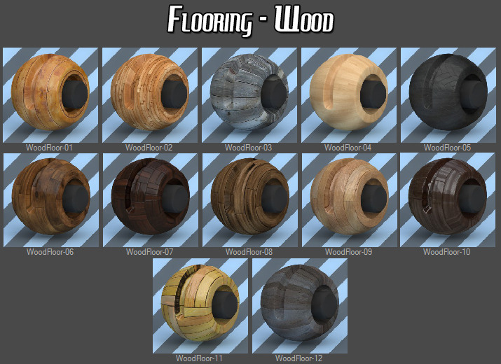 183 VRay Building Materials Pack for Cinema 4D by smabukhari  3DOcean
