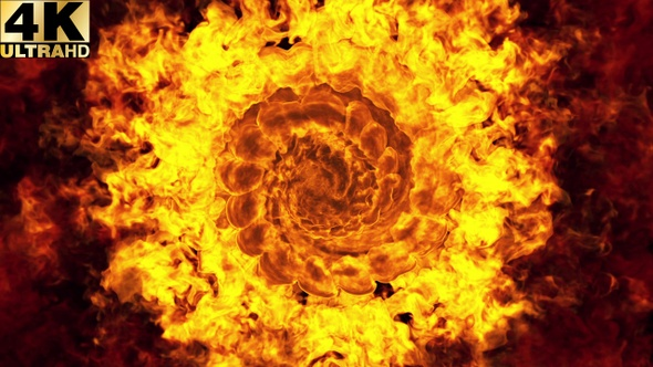 fire background seamless loop