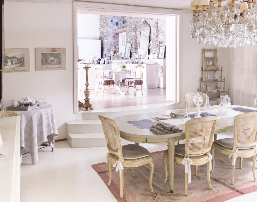 Comedor shabby chic romntico y campestre  WESTWING