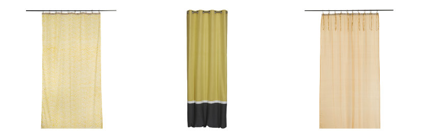 trouvez votre rideau jaune westwing