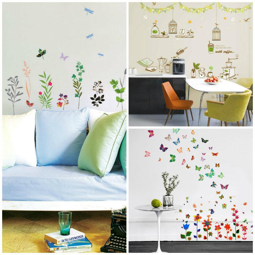 Gli adesivi murali sono un modo bellissimo e semplice per decorare i vostri muri. Stickers Originalita Sempre Al Posto Giusto Dalani E Ora Westwing