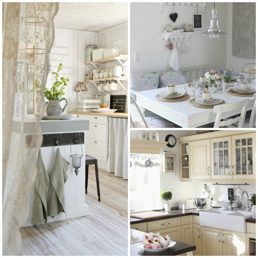 Cucine shabby chic romanticismo vintage  WESTWING
