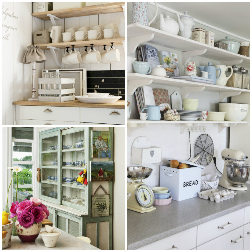 Cucine shabby chic romanticismo vintage  WESTWING  Dalani e ora Westwing