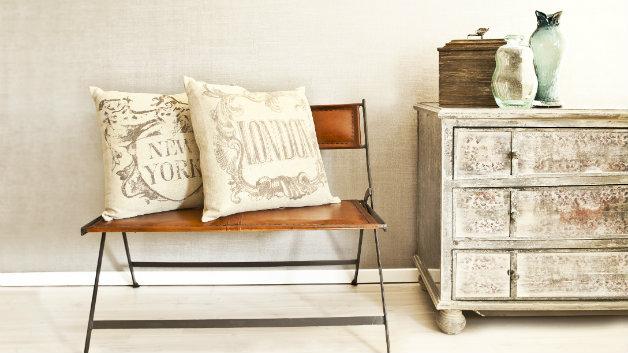 Soggiorno rustico arredamento in legno per la casa