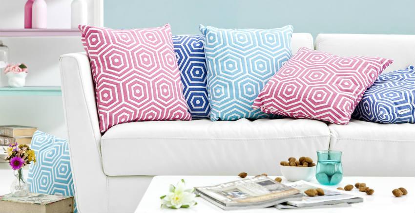 Cuscini tessili per la casa colorati e versatili  Dalani