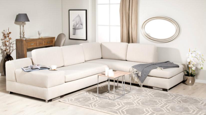 Divano letto angolare con contenitore stile in casa