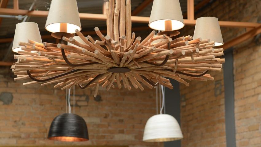 Trendy houten lampen die passen in elk interieur  Westwing
