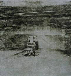 andy warhol electric chair 1964 [ 1002 x 791 Pixel ]