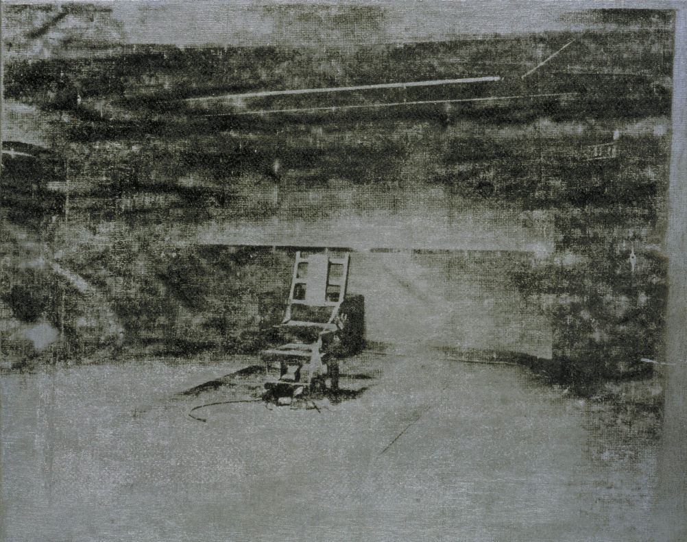 hight resolution of andy warhol electric chair 1964