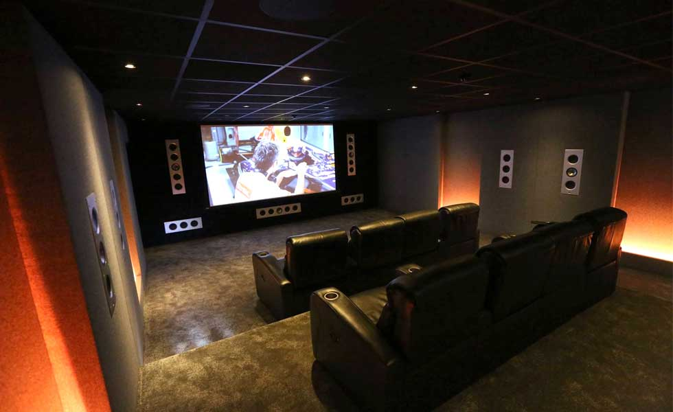 furniture row sofa sure fit t cushion how to create a home cinema or media room | homebuilding ...