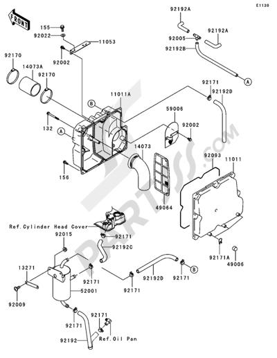 Kawasaki JET SKI STX-15F 2005. 分解図 純正部品をオンライン購入