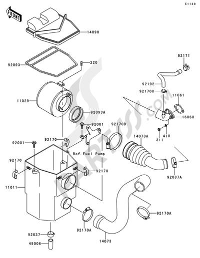 Kawasaki Mule 610 Wiring Diagram : 2003 2009 Kawasaki Mule