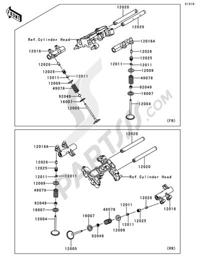 Despiece Kawasaki VN1700 CLASSIC TOURER ABS 2011