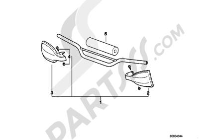 Bmw F650 1997 (E169). 分解図 純正部品をオンライン購入