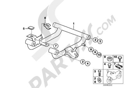 Bmw F650GS 2001-2004 (R13). 分解図 純正部品をオンライン購入