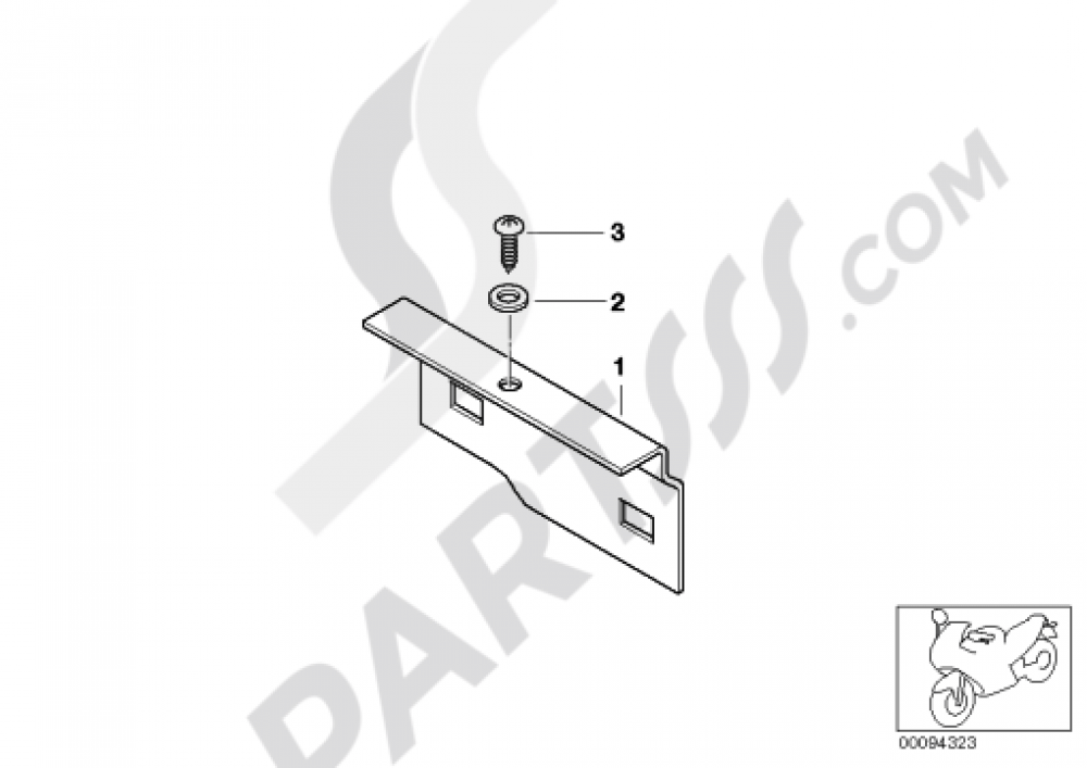 FUSE AND RELAY HOLDER Bmw F650GS 2001-2004 (R13)
