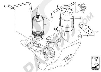 Sezionamenti di ricambi Bmw F650GS DakarM 2005-2007 (R13