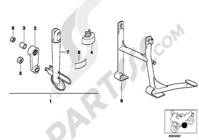 Sezionamenti di ricambi Bmw F650ST F650ST (E169). Compra