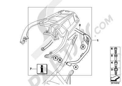 Bmw F800S F800S (K71). 分解図 純正部品をオンライン購入