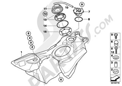Despiece Bmw G650 Xchallenge G650 Xchallenge (K15
