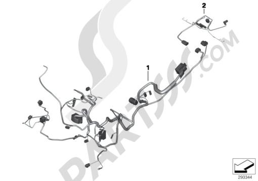 Sezionamenti di ricambi Bmw G650 Xcountry 2008-2009 (K15