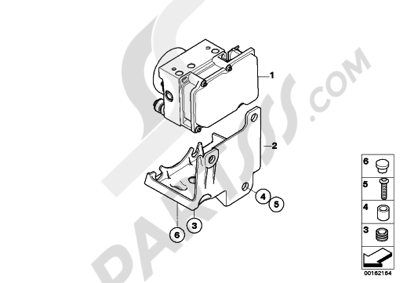 Bmw G650 Xcountry 2008-2009 (K15) Dissassembly sheet