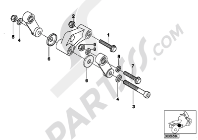 Bmw G650GS SERTAO G650GS SERTAO (R134) Dissassembly sheet