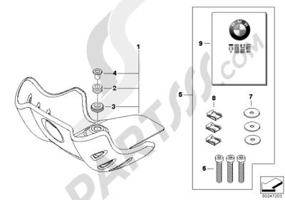 Bmw G650GS SERTAO G650GS SERTAO (R134) Dissassembly sheet