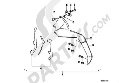 Bmw K100LT K100 LT (K589) Dissassembly sheet. Purchase