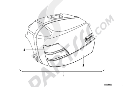 Bmw K1200RS 2002-2004 (K41) Dissassembly sheet. Purchase