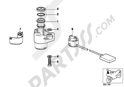 Bmw K1200RS 1998-2001 (89V3). 分解図 純正部品をオンライン購入