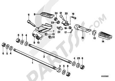 Bmw R100GS PD R100GS PD (47E1). 分解図 純正部品をオンライン購入