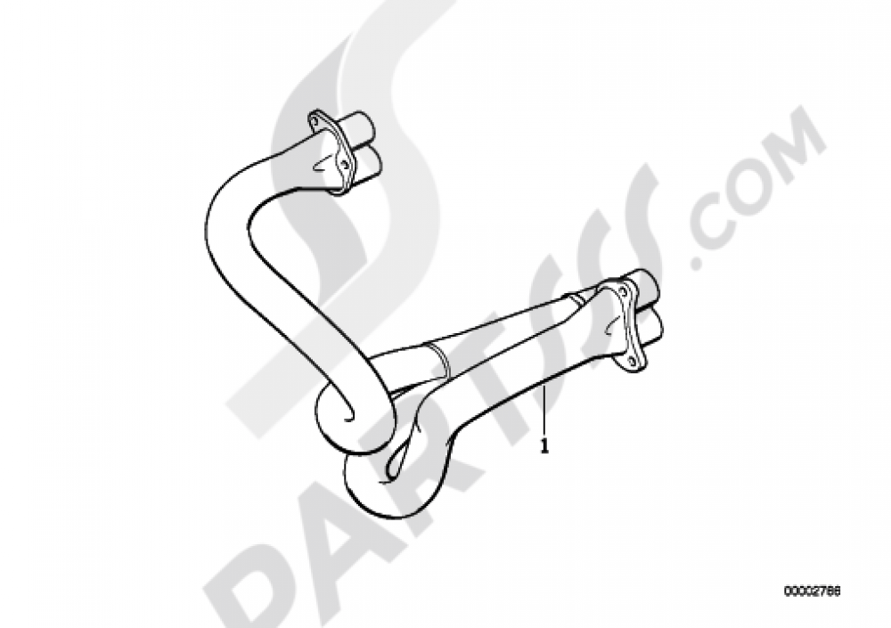 EXHAUST MANIFOLD Bmw R1100RS R1100RS (259S)