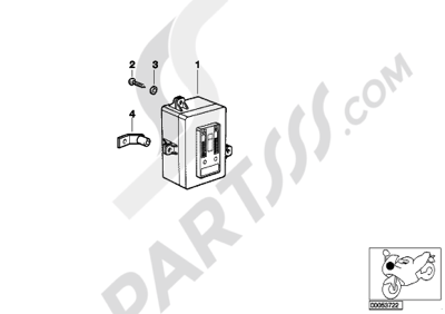 Despiece Bmw R1150GS ADVENTURE R1150GS ADVENTURE (R21A