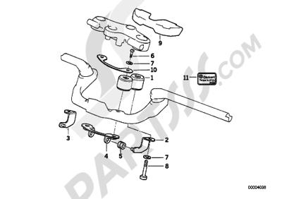 Bmw R1150RS R1150RS (R22). 分解図 純正部品をオンライン購入