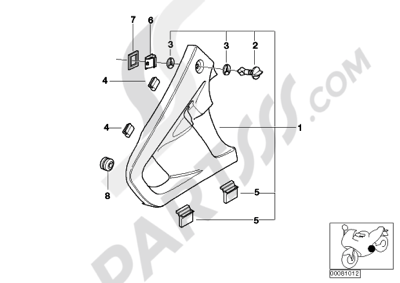 Bmw R1150RT R1150RT (R22) Dissassembly sheet. Purchase