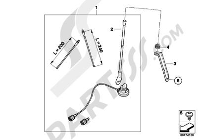 Bmw R1150RT R1150RT (R22). 分解図 純正部品をオンライン購入