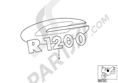 Sezionamenti di ricambi Bmw R1200 MONTAUK R1200 MONTAUK