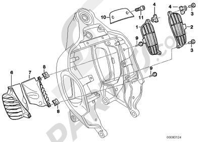 Bmw R1200C 1998-2003 (59C1) Dissassembly sheet. Purchase