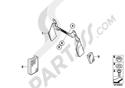 Bmw R1200GS 2010-2013 (K25). 分解図 純正部品をオンライン購入