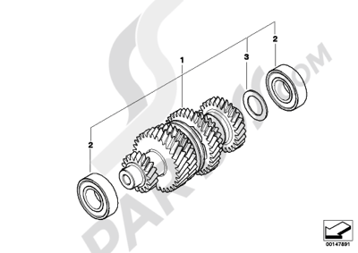 Moteur de recherche des pièces de rechange Bmw :modèle
